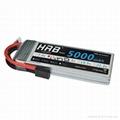 HRB 11.1V 5000mAh 3S 50C-100C Akku LiPo Battery With Traxxas TRX plug