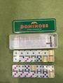 Plastic  Domino In Tin Box