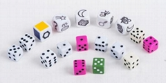 Educational Plastic Enghlish Letters Dice For Child