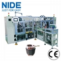 Automatic eleltric motor induction motor stator coil lacing machine 1