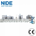 coil winding mahcine stator production line for three phase washing machine 3