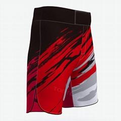 Best quality muay thai shorts red mma shorts