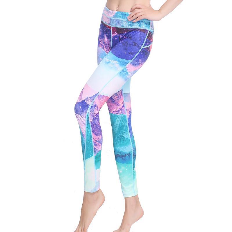 Sexy yoga pants gym leggings women united leggings 3