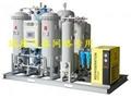 Oxygen generator for laser cutting