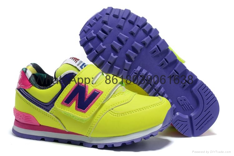 New Balance USA shoes men's casual trainers shoes Men's Running Shoes NB kids 4