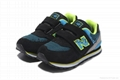 New Balance USA shoes men's casual trainers shoes Men's Running Shoes NB kids 8
