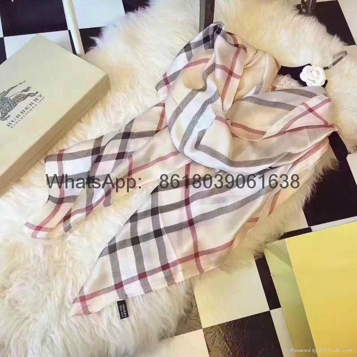 Burberry muffler scarf gucci Wool  Scarf AAA wholesale hot sale free shipping 17