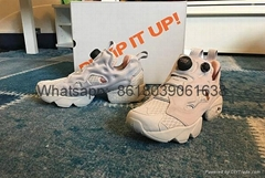 wholesale 1:1 quality Reebok GL pump  Reebok inflatable shoes, real carbon