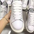 Alexander McQueen Women Men White Runway Trainers MCQ Chunky Outsole sneaker