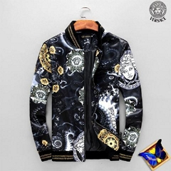 Versace Jacket Medusa Windbreaker Versace Coat Versace zippy Men Clothes Jerse