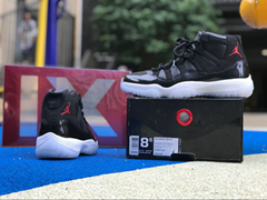 competitive price cced5 429fb Authentic Air Jordan 11 Retro 72-10 AJ11 Sneakers running basketball shoes