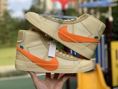 2019 new OFF-WHITE x      Blazer Mid shoes 1:1 high quality Wholesale