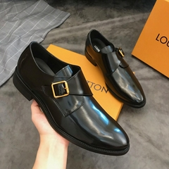 2019 listing shoes  LV business leather shoes Handmade leather shoes oxfords