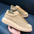 2020 Wholesale Alexander McQueen Two-Tone Leather Low-Top Sneakers Shoes
