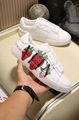 wholesale 2020 Valentino Shoes New Large Letter Printed White Thick-soled Daddy