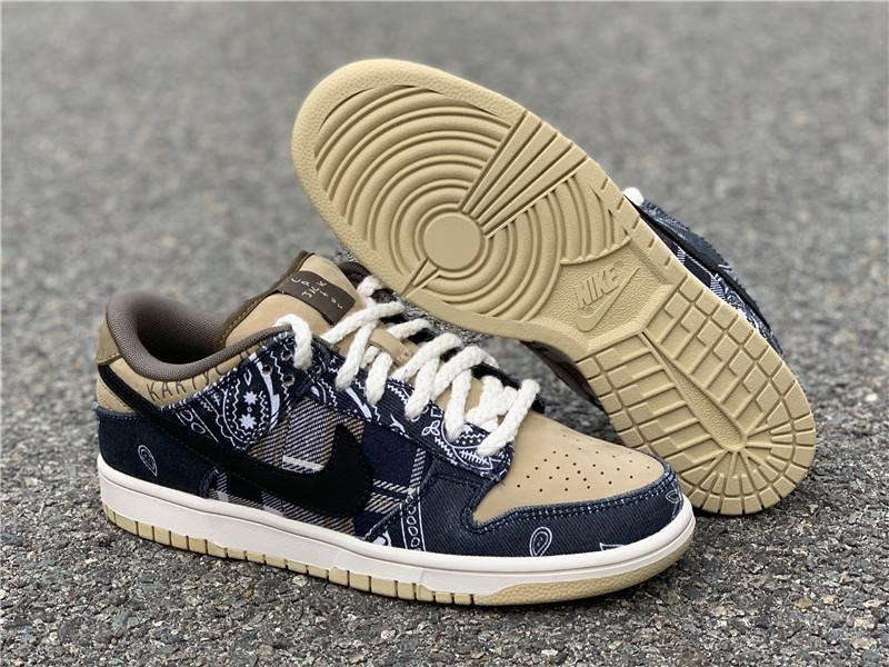 Wholesale 2020 hot sell Travis Scott x Nike SB Dunk Low  CT5053-001