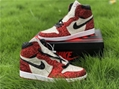 wholesale 2020 new  AJ 1 theshoesurgeon  The North Pole Chicago Numbers CK5566