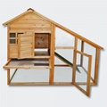 Wooden Rodent house Bunny hutch Hen coop Pet house Free run Enclosure 1