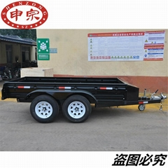 China small practical transporter tool box trailer tent camping car for hot sale