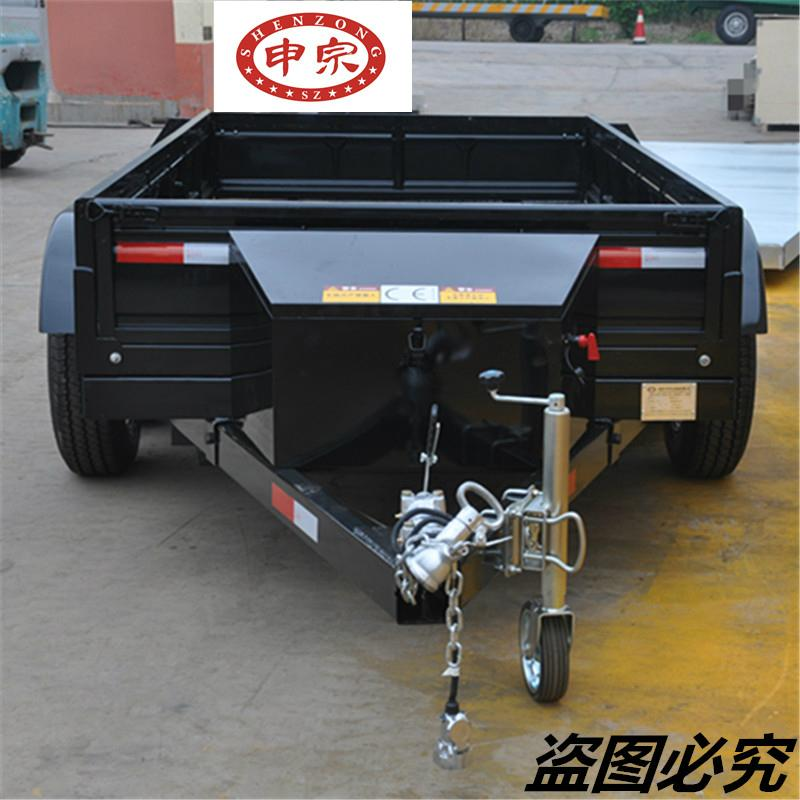 China small practical transporter tool box trailer tent camping car for hot sale 2