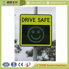 Superior Quality Customized Traffic Digital Radar Speed Sign Traffic With Statis