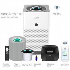 2017 Hot sale Air purifier air Humidifier and purifier home air purifier hepa re