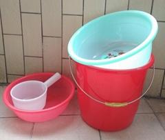 桶盆篮瓢四件套