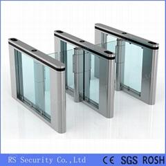 Automatic Turnstiles Glass Door Swing Barrier Gate
