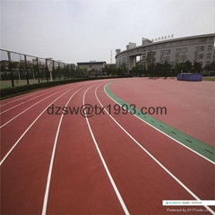 Prefabricated Rubber Running Track Rubber Sport Surface Roll Manufacturer