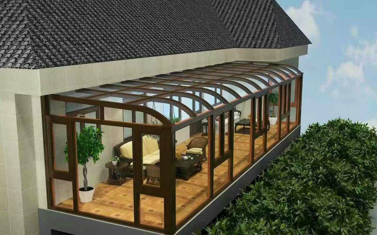 贝科利尔高端设计铝包木阳光房 1