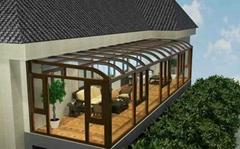 贝科利尔高端设计铝包木阳光房