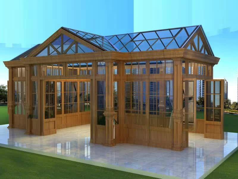 贝科利尔高端设计铝包木阳光房 4