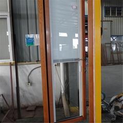 铝包木门窗内置磁控百叶遮阳