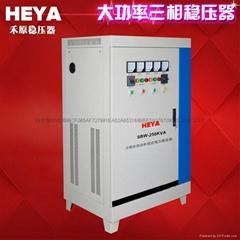 三相380v全自动高精度电力补偿式大功率稳压器250kw SBW-250KVA