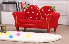 可愛儿童草莓沙發套裝