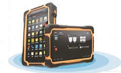 Rugged Tablet PC IP67 Android RFID PDAs Barcode Scanner Tablet