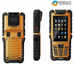 R   ed Handheld Android Industrial Data Mobile IOT Terminal PDA