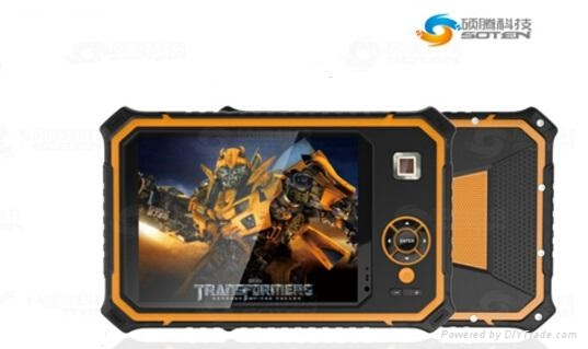 8 Inch Android 5.1 IP67 Rugged Tablet    2