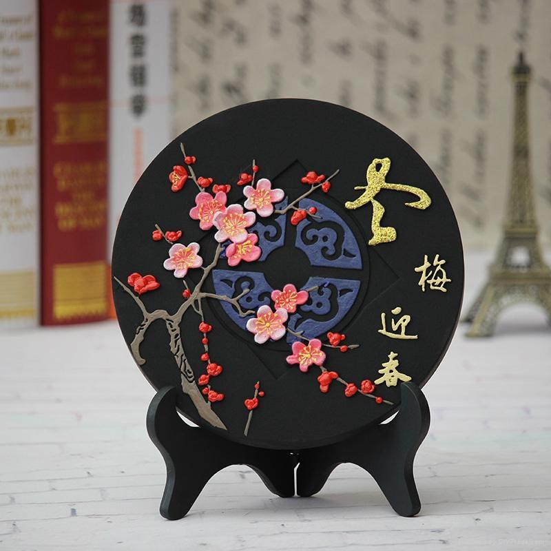 节日福利活性炭雕摆件 1