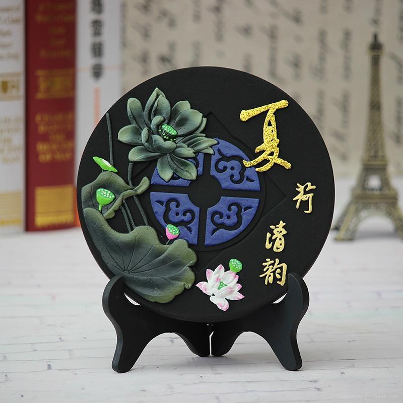 节日福利活性炭雕摆件 2