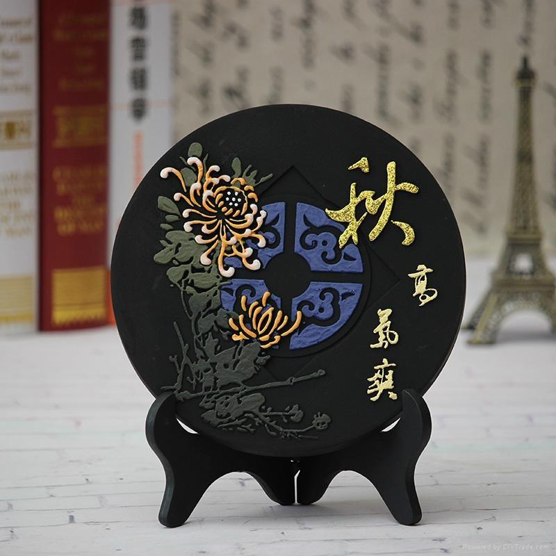 节日福利活性炭雕摆件 5
