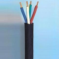 欧洲橡胶线H05RR-F正品无氧铜丝橡胶线