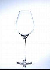 高腳水晶紅酒杯
