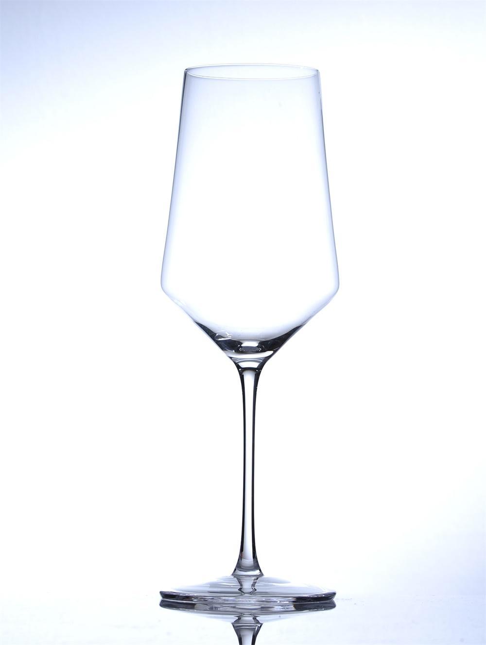 高脚水晶红酒杯 4