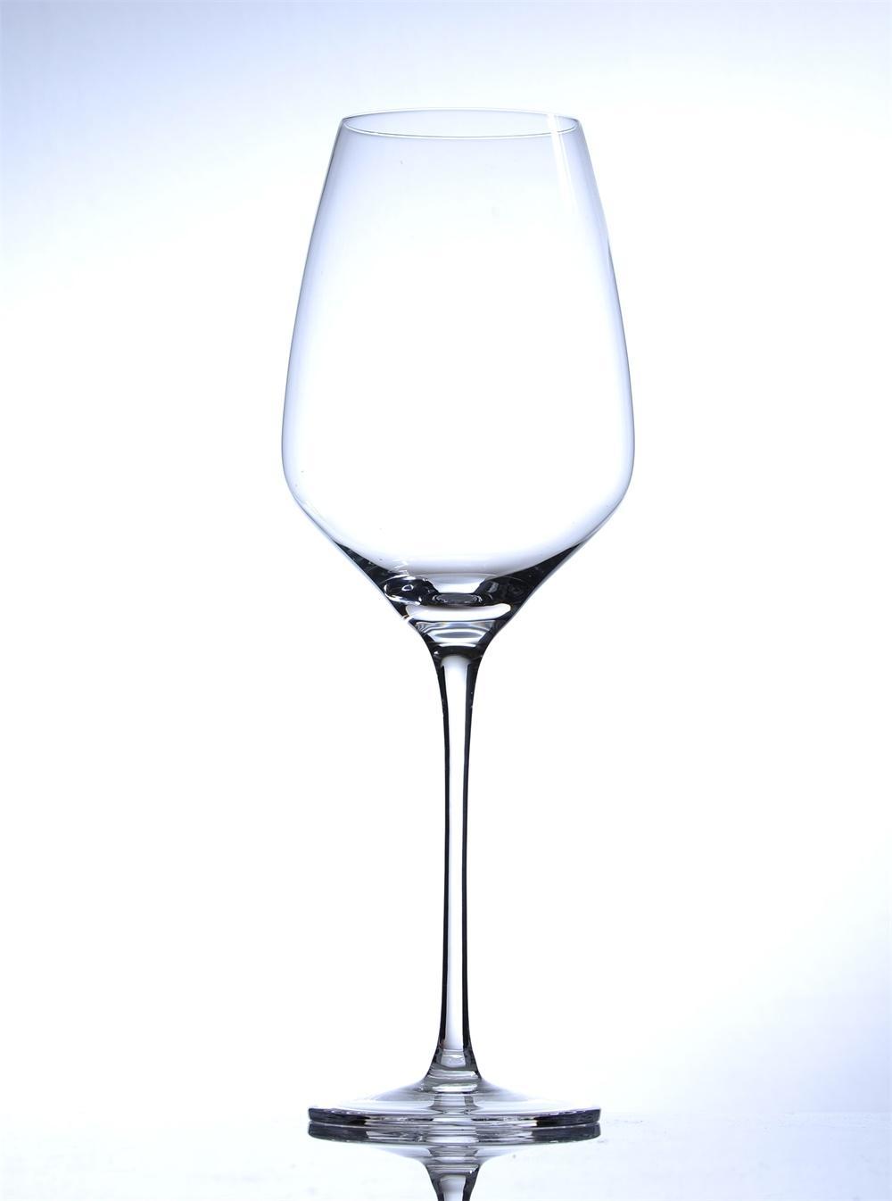 高脚水晶红酒杯 5