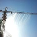 Environmental construction tower machine spray