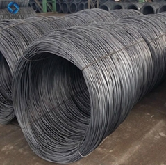 prime hot rolled alloy sae1006 ms 6mm steel wire rod coils for nail making