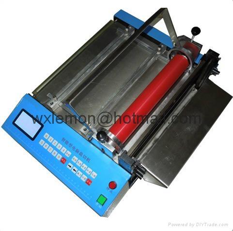 全自動彩色橡膠帶裁切機 (冷刀)LM-300S 1
