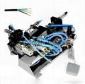 Pneumatic Multi-core sheath wire stripping machine