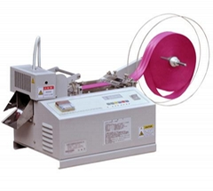 automatic fall protection harness cutting machine LM-619(cold and hot cutter)